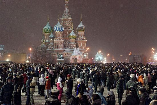 New Years Eve in Moscow 2020
