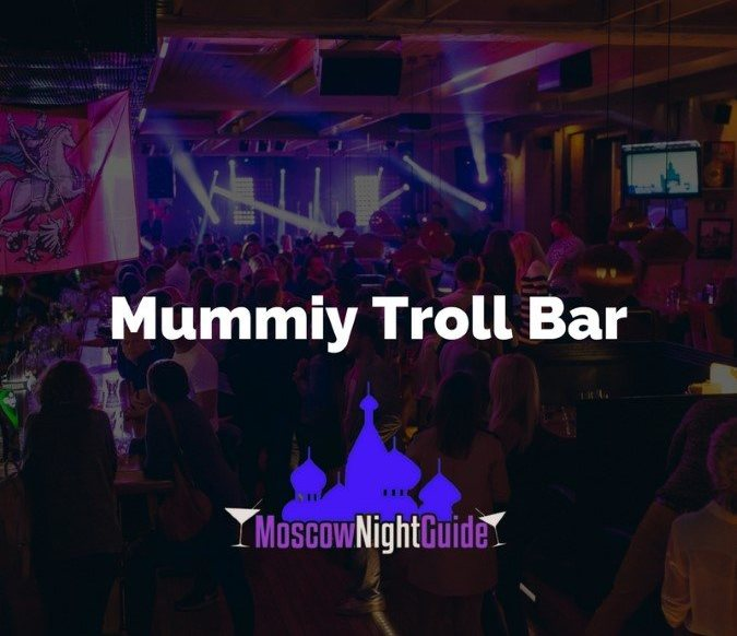 Mummiy Troll Bar Moscow reviewed by Moscownightguide
