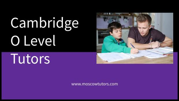 Cambridge O Level Tutors
