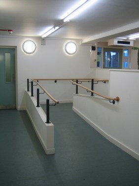 New ramped access