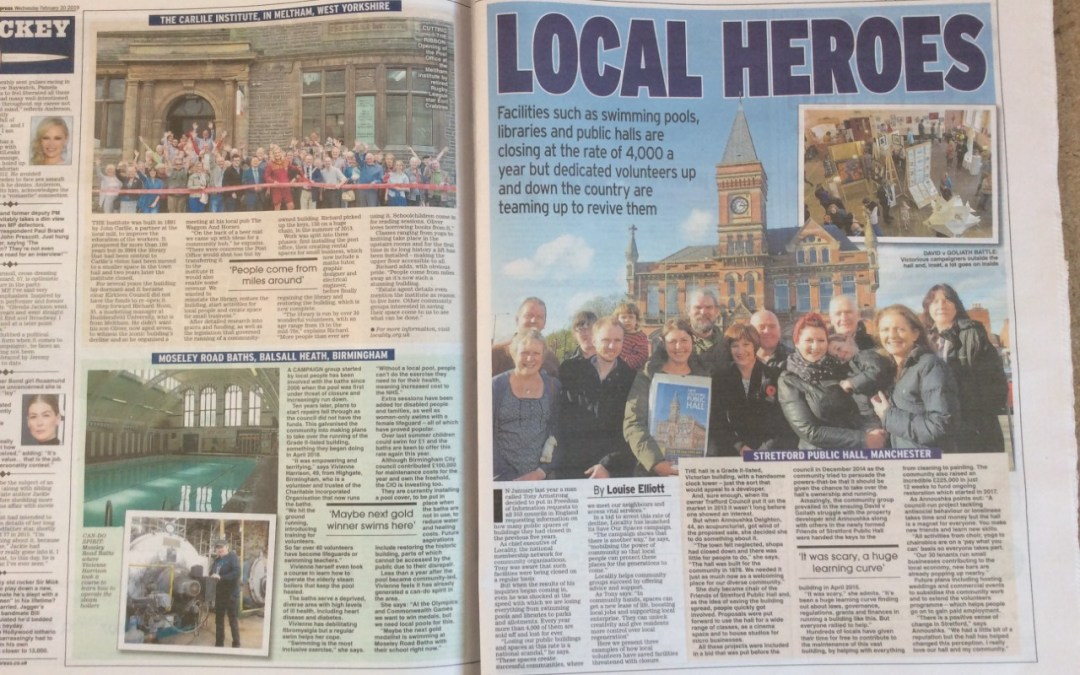 Local Heroes!