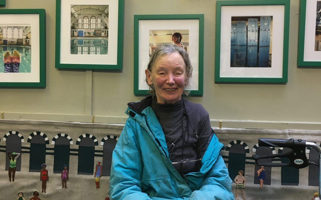 Janet Moir – Long time swimmer at Moseley Road Baths