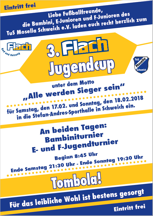 3. Flach-Jugend-Cup 2018