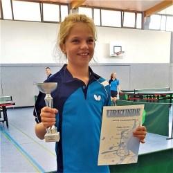 Emily Strüber erreicht 2. Platz bei R.TTV.R-Verbandsranglisten