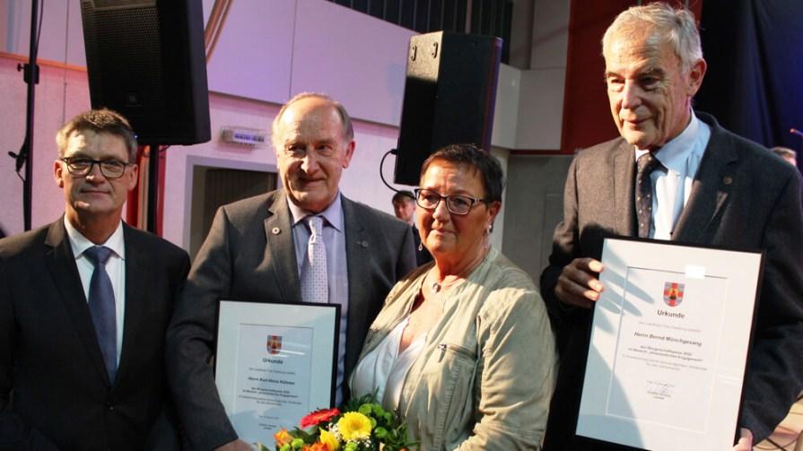 """Bürgerschaftspreis im Bereich """"Ehrenamtliches Engagement"""" für Bernd Münchgesang"""