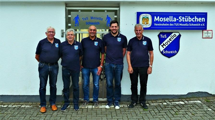 Geschäftsführende Vorstand des TuS Mosella Schweich e.V.