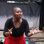 Kenyan storyteller who crosses the borders to tell stories talks about her Ljungby experiences