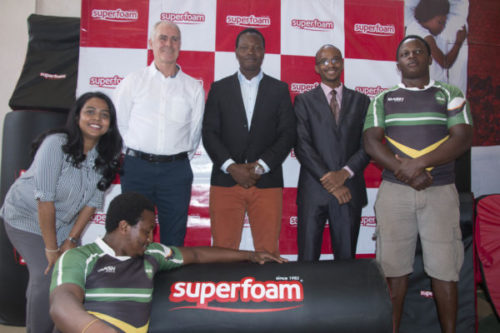 Superfoam Ltd enters partnership with Kiambu rugby team