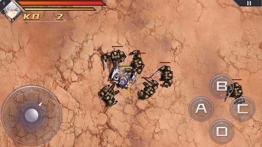 アイアンサーガの模擬戦