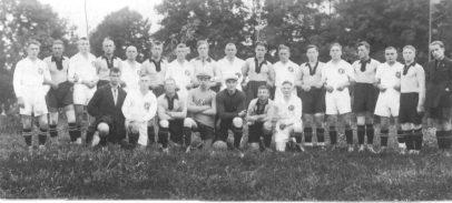 1925r. – mecz RSV kontra Kowno (Litwa)
