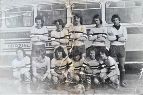 1973. Juniorzy - Możejko. Kostecki Kupiec, Krawczyk, Kozakiewicz, Pikus, Furlepa, Strumiłowski, Liszewski,
