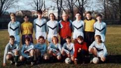 1995. Młodzicy ( r. 80-81) z trenerem Z. Wtulichem