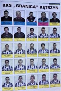 1999. Kadra zespołu na rundę wiosenną IV ligi.