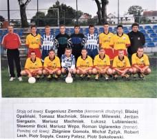 2000. Przed pierwszym meczem drugiego sezonu w III lidze.