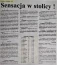 2001. Wiosenne zwycięstwo nad liderem.