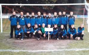 2005. III Międzynarodowy Turniej Młodzików w Kętrzynie. Z trenerem Michałem Żyżykiem.