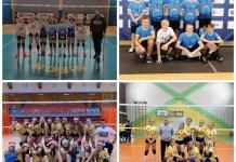 Cztery zespoły klubu Lechia Volleyball Mysłowice