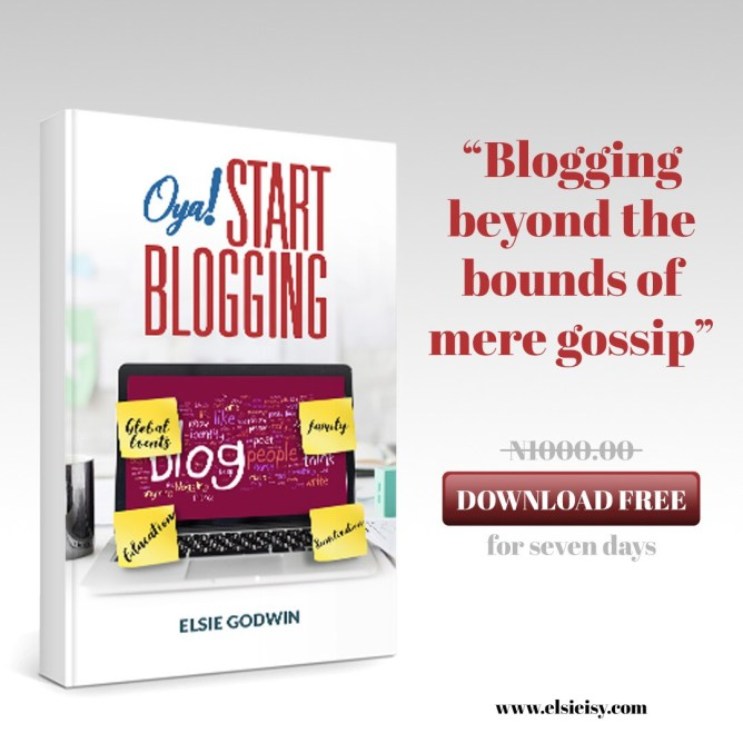 oya start blogging