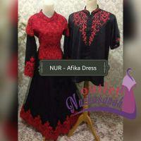 Baju Pesta Muslimah  Afika Dress (Bisa dicicil untuk lebaran 2017 – Made By Order)
