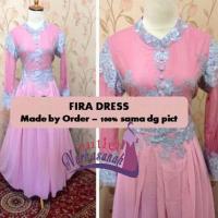 Kebaya Modern Muslimah - Kebaya Fira (made by order dan bisa dicicil untuk baju lebaran)