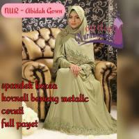 Gaun Lamaran dan Gaun Pesta Abidah Gown (made by order)