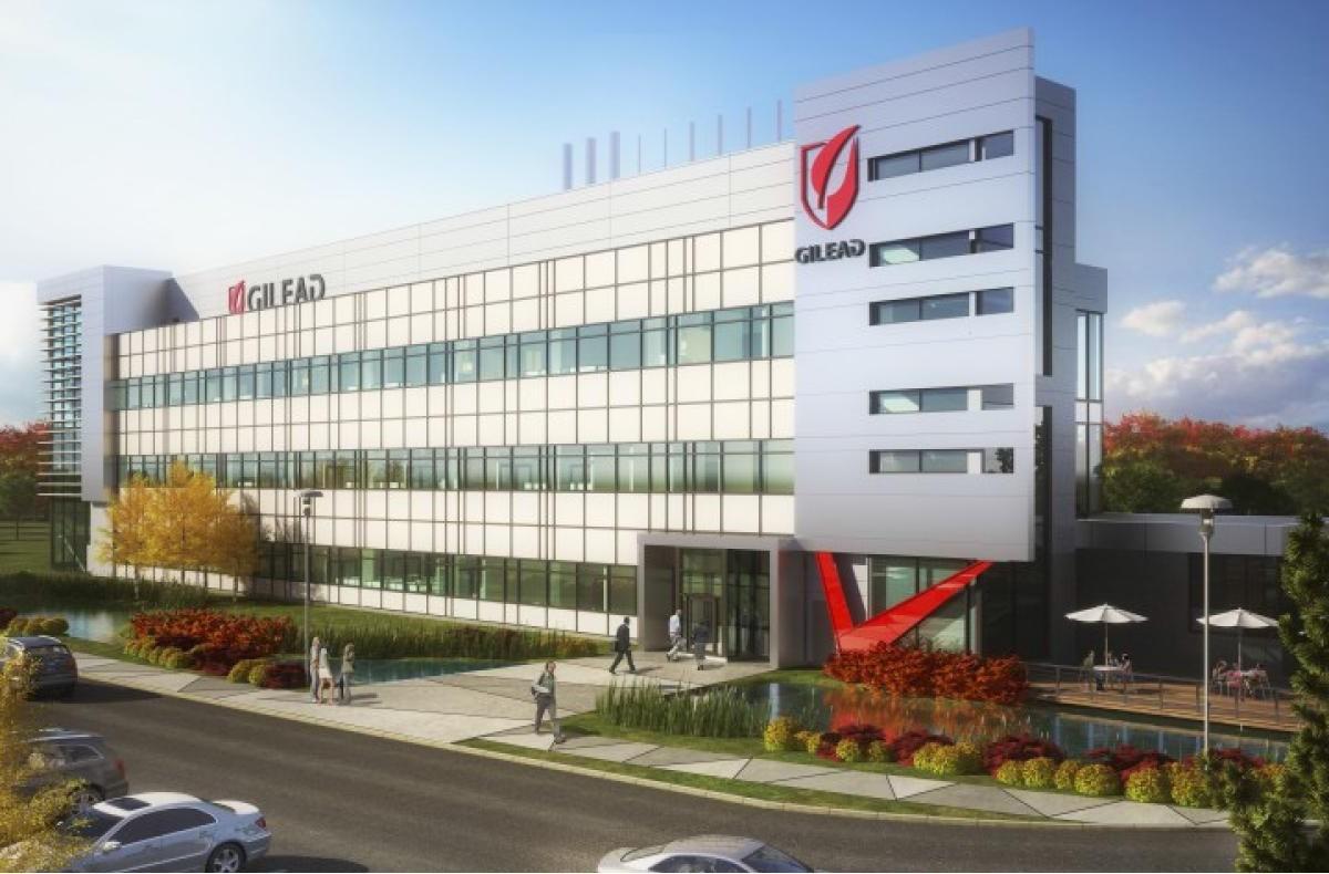 Штаб-квартира Gilead Sciences.