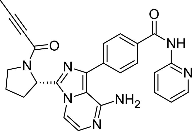 Акалабрутиниб (acalabrutinib).