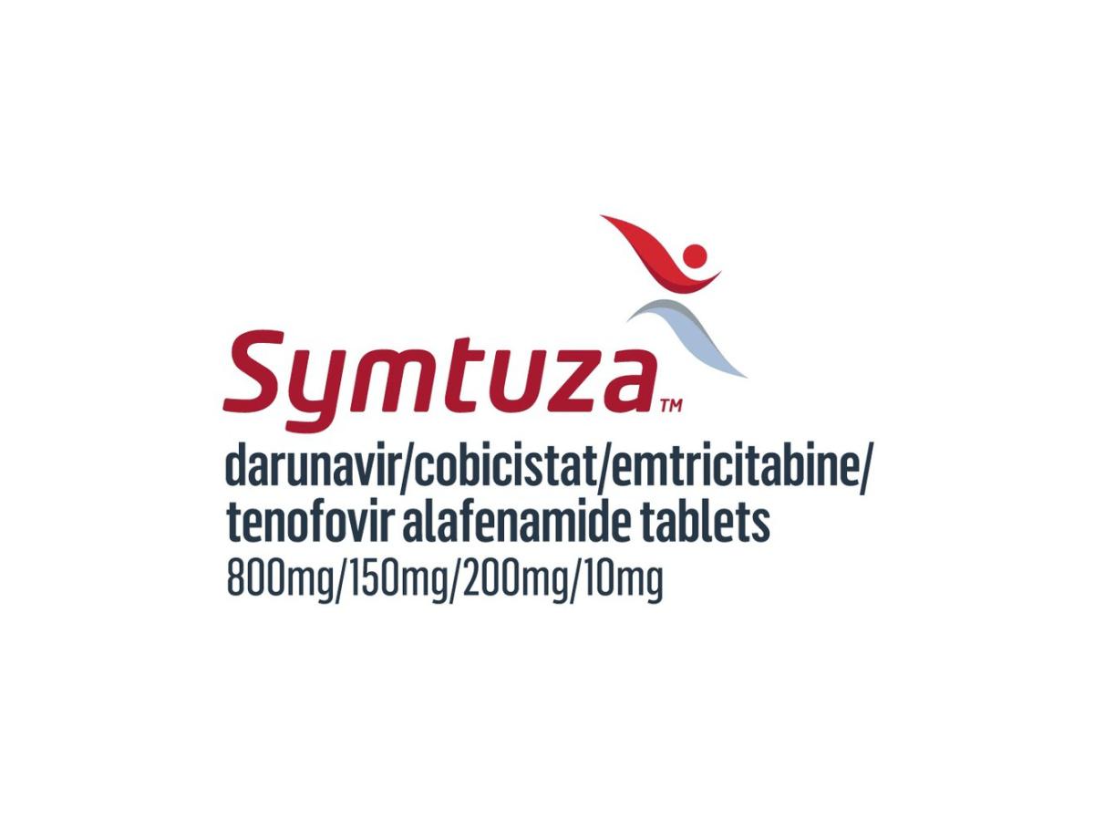 «Симтуза» (Symtuza, дарунавир + кобицистат + эмтрицитабин + тенофовира алафенамид).