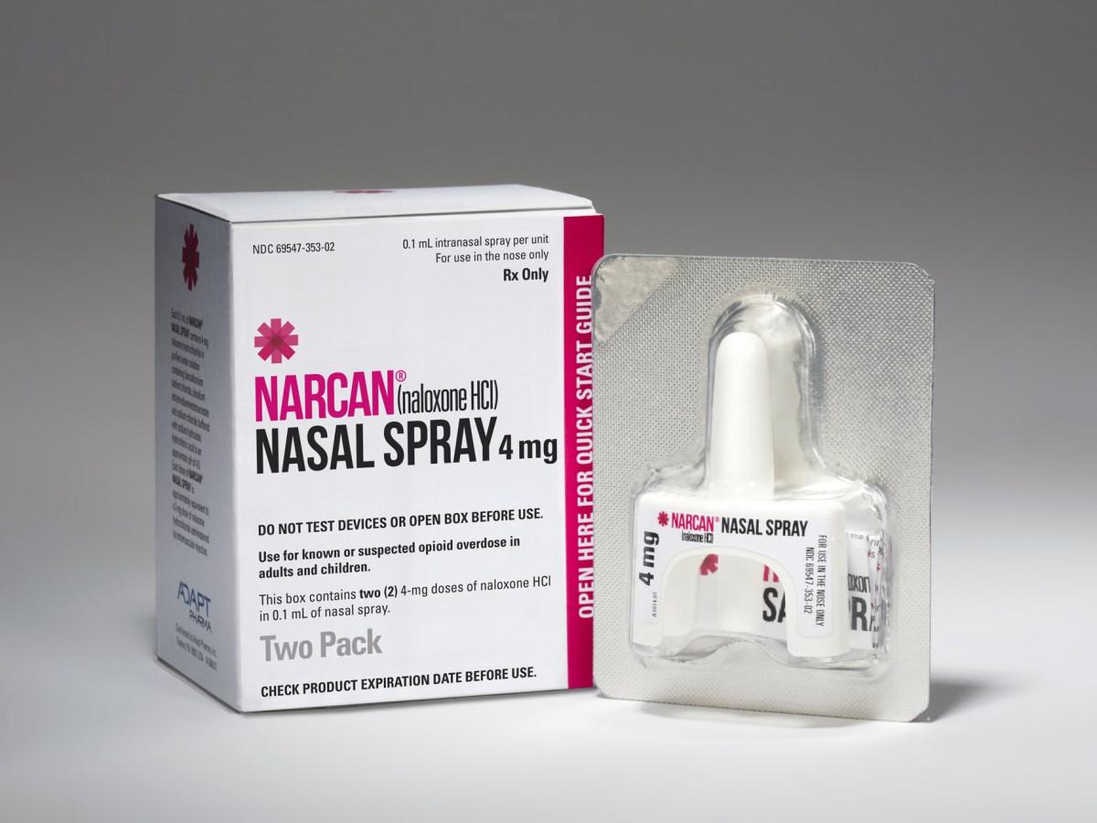 «Наркан» (Narcan, налоксон).