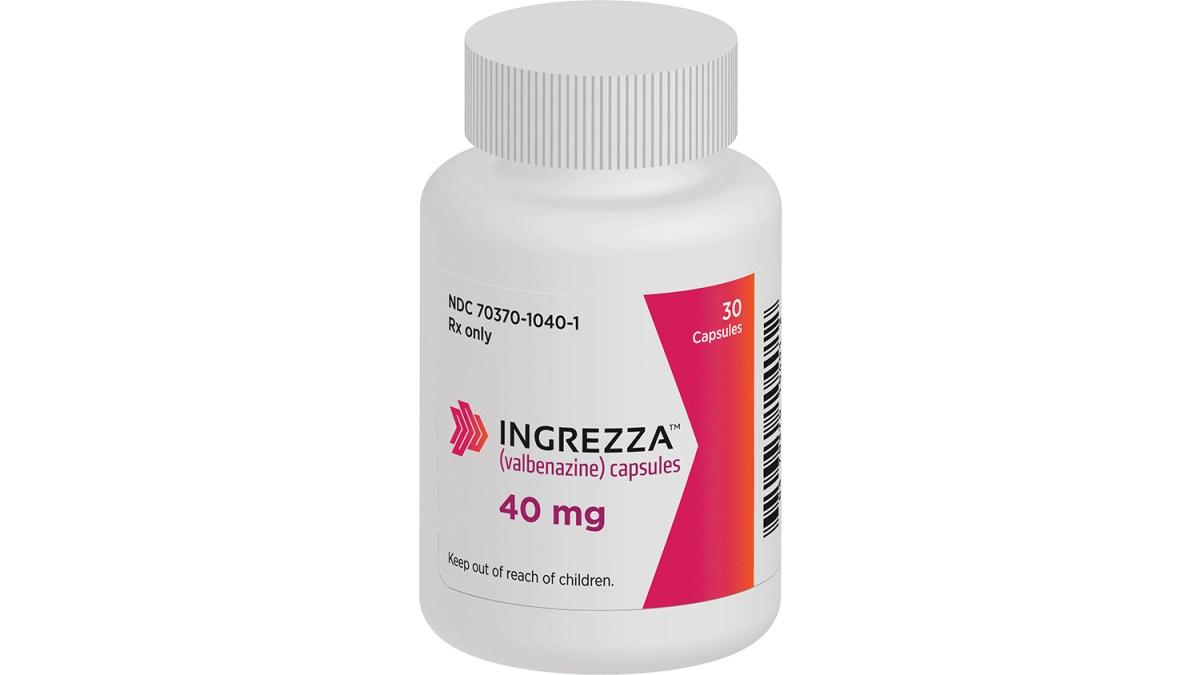 «Ингреза» (Ingrezza, валбеназин).