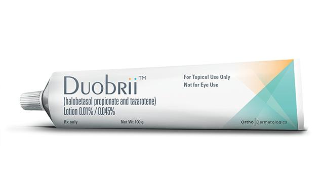 «Дуобрии» (Duobrii, галобетазола пропионат + тазаротен).