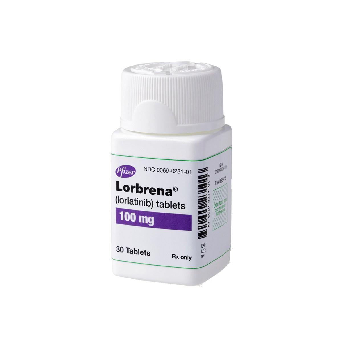 «Лорбрена» (Lorbrena, лорлатиниб).