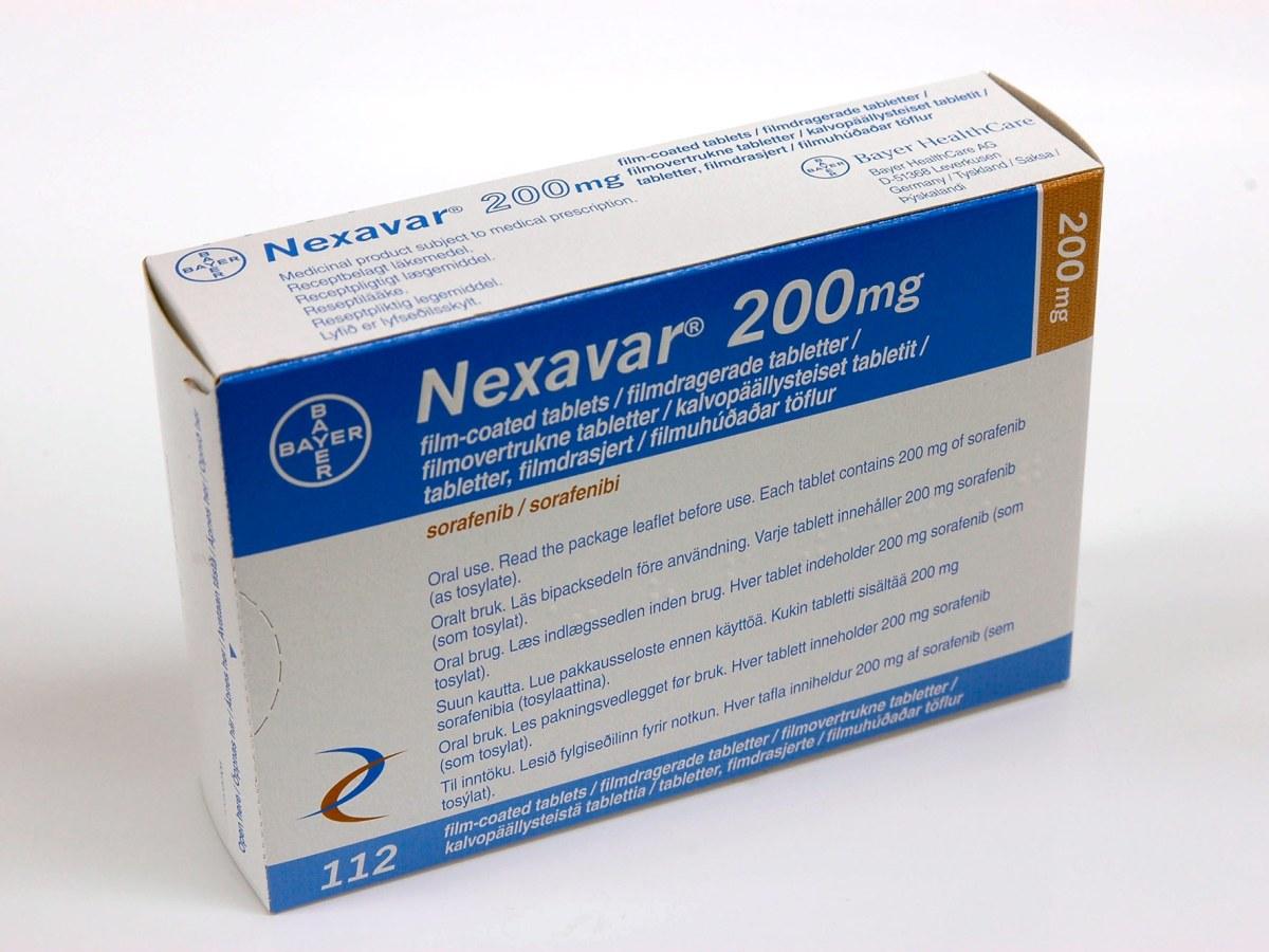 «Нексавар» (Nexavar, сорафениб).