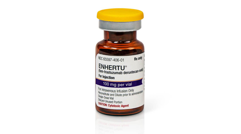 «Энхерту» (Enhertu, трастузумаб дерукстекан).
