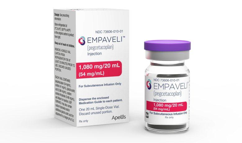 «Эмпавели» (Empaveli, пегцетакоплан).