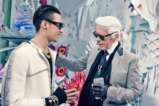g-dragon-with-karl-lagerfeld-at-chanel-mosnar-communications