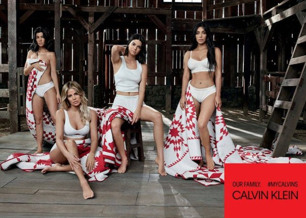 Kardashian Jenner Sisters For Calvin Klein In Our Family Campaign Mosnar Communications 3