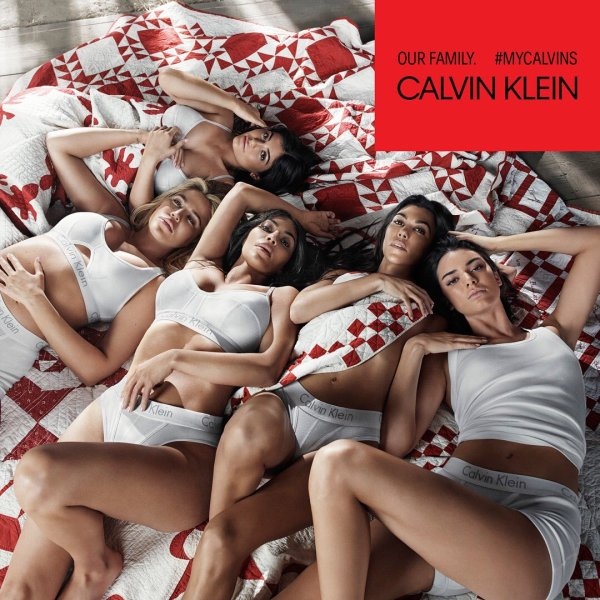 Kardashian Jenner Sisters Our Family Calvin Klein Campaign Mosnar Communications
