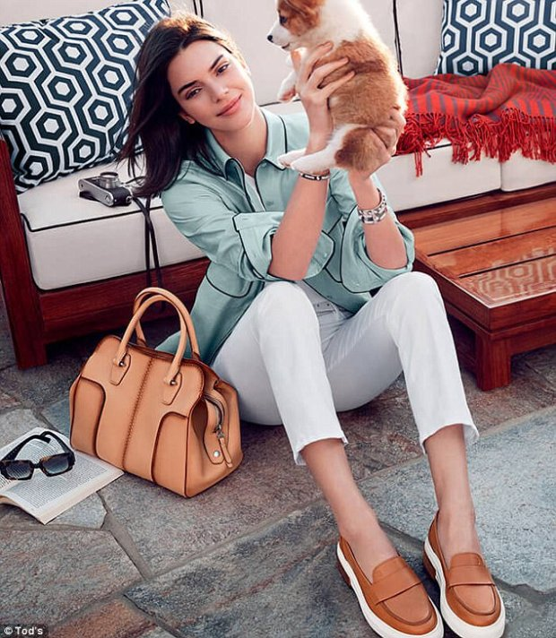 Kendall Jenner For Tods Mosnar Communications