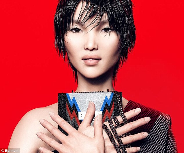 Balmain CGI Luxury Brand Digital Models Mosnar Communications 5 Zhi