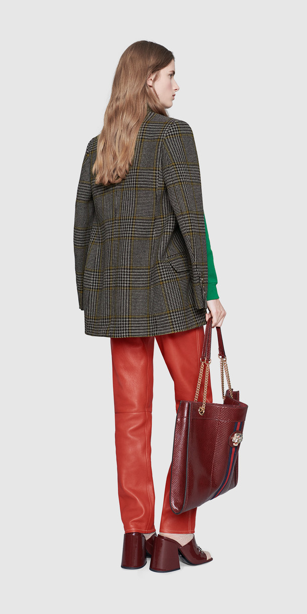 GucciPrince of Wales Cape Jacket Back MC Mosnar Communications