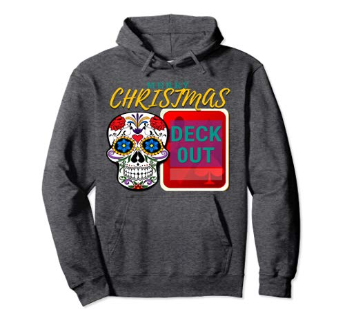 Merry Christmas Deck Out Hoodie CharmPosh Mosnar Communications