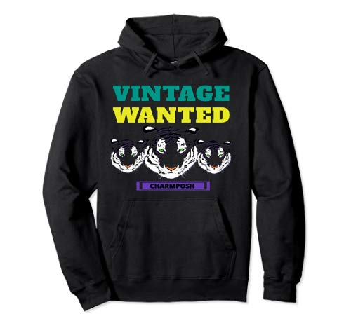 Vintage Wanted Designer Hoodie CharmPosh Mosnar Communications