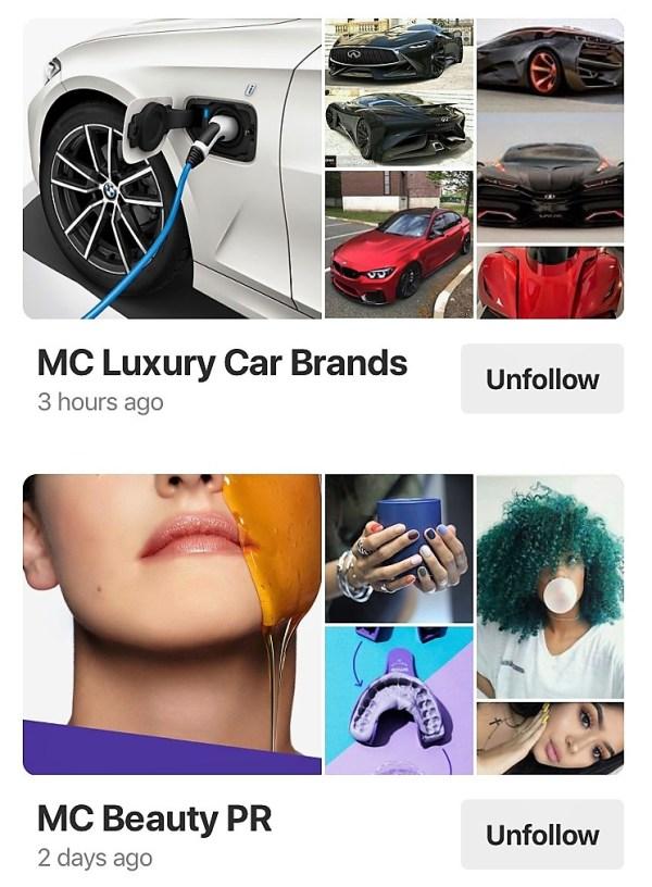 Mosnar Communications Pinterest