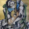 The Guitar Player original painting by Yuroz