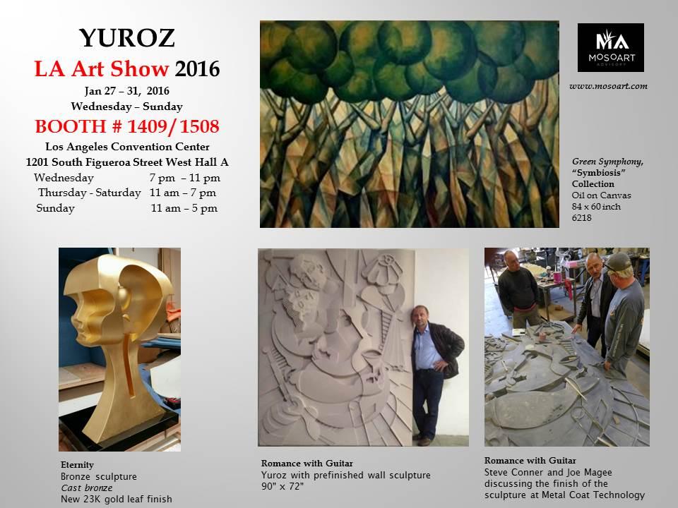 Yuroz at LA Art Show 2016