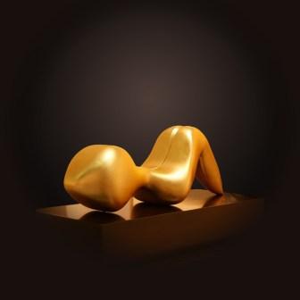 Seduction sculpture by Yuroz