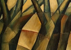 Meditation Series: Dancing Trees, Study II by Yuroz detail
