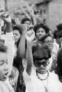 Young Women at Civil Rights Rally