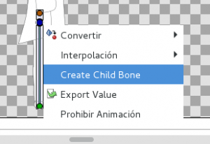 Create child bone